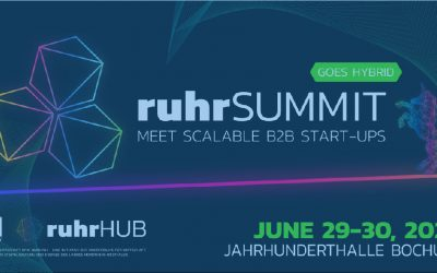 RUHRSUMMIT 2021: SCALABLE B2B START-UPS